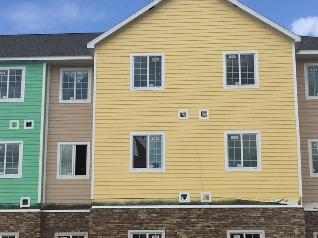 Improper window flashing with house wrap