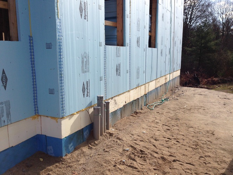 Going beyond 2x4 walls in a warm climate energy vanguard - Adding rigid insulation to exterior walls ...