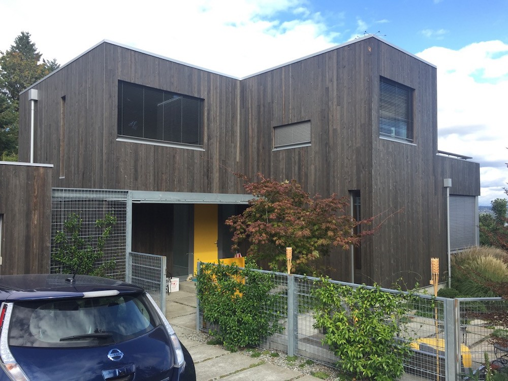 A certified Passive House in Seattle, Washington