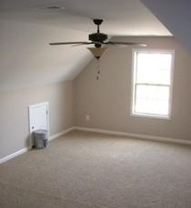 attic kneewall bonus room door