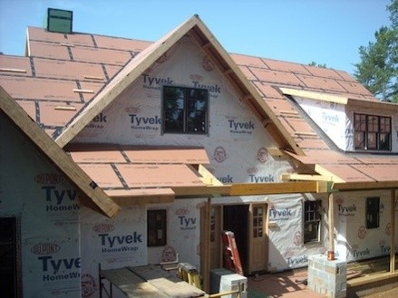 Does your air barrier work in both directions for Sheathing house wrap