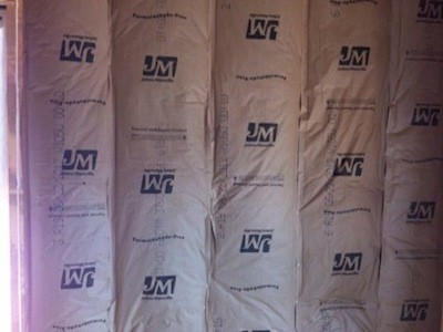 Fibergl Batt Insulation Kraft Paper Vapor Er Inside
