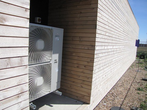 heat pump outdoor unit cold climate 500