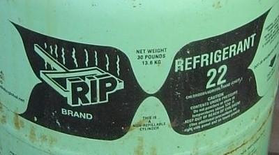hvac air conditioner dry ship refrigerant hcfc r22 RIP