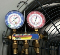 hvac contractor pressure gauges for refrigerant charge test energy star