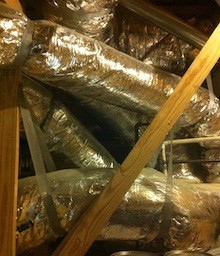 Flex duct is cheap and easy to install - and often leads to problems.