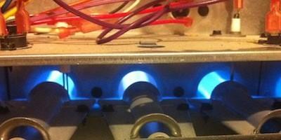 hvac furnace atmospheric combustion burner dragon heating capacity
