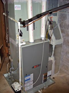 High efficiency furnace - not all it's cracked up to be in a high performance home?