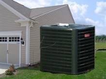 hvac oversized air conditioning system massive enormous condenser texas