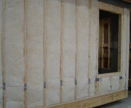 insulation grade I no gaps compression or incomplete fill