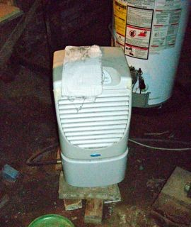 Crawl space moisture problems too much for this dehumidifier