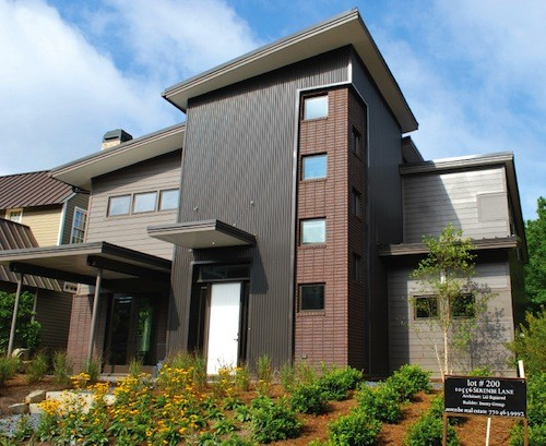A net zero energy home in a beautiful green community for Net zero energy homes
