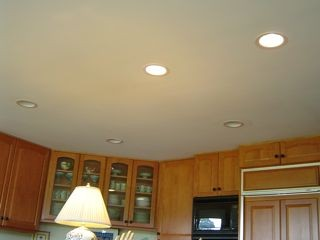 Recessed can lights are not green - even if they ARE ICAT rated.