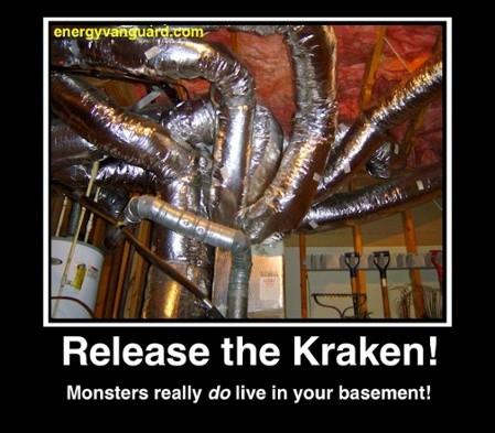 Release the Kraken! The Ductopus Kraken!