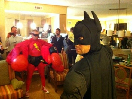 The Energy Avenger vs Batman and ACCA vs BPI