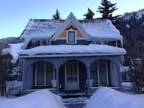roof ice dam attic heat loss cute house