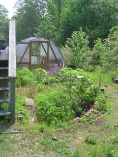 sustainable living farm garden greenhouse