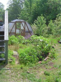 sustainable living farm garden greenhouse