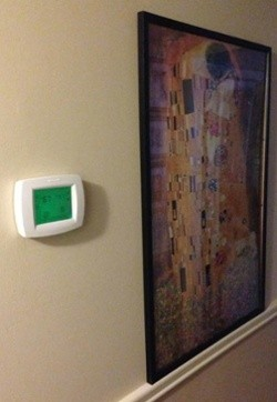 thermostat setting heat pump heating