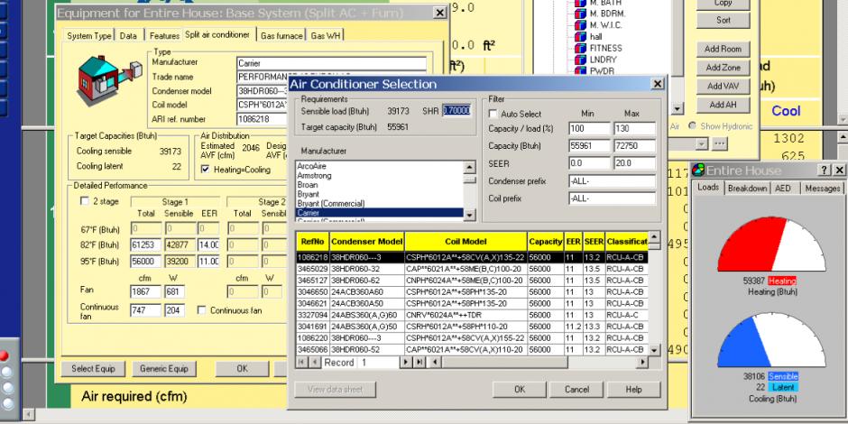 Load Calculations Hvac Design Energy Vanguard