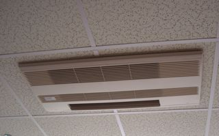 ductless heat pump ceiling cassette head hvac