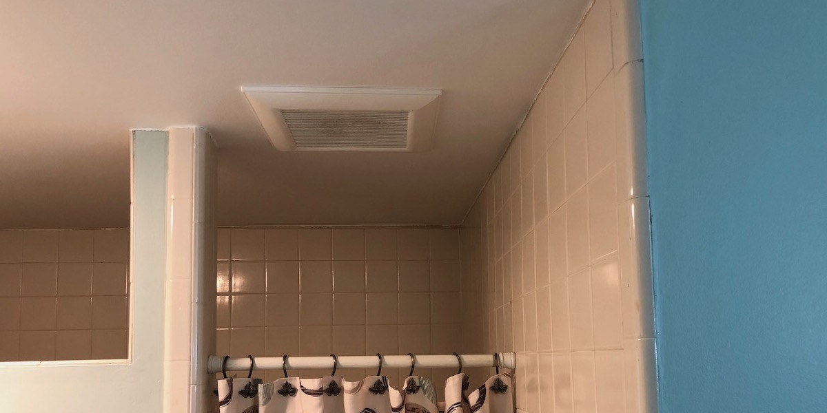 Bath Fans Have Such Poor Air Flow, How To Install A Bathroom Exhaust Fan In Basement
