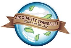 Energy Vanguard wins air quality blog award