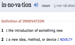 innovation definition passive house