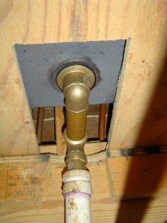 air leakage infiltration bathtub hole building envelope 4