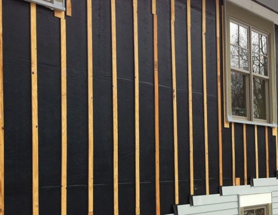 vented rain screen furring strips osb