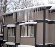 Ice Dams Caused By Heat Loss Through Ceiling Higher Fuel Oil Use