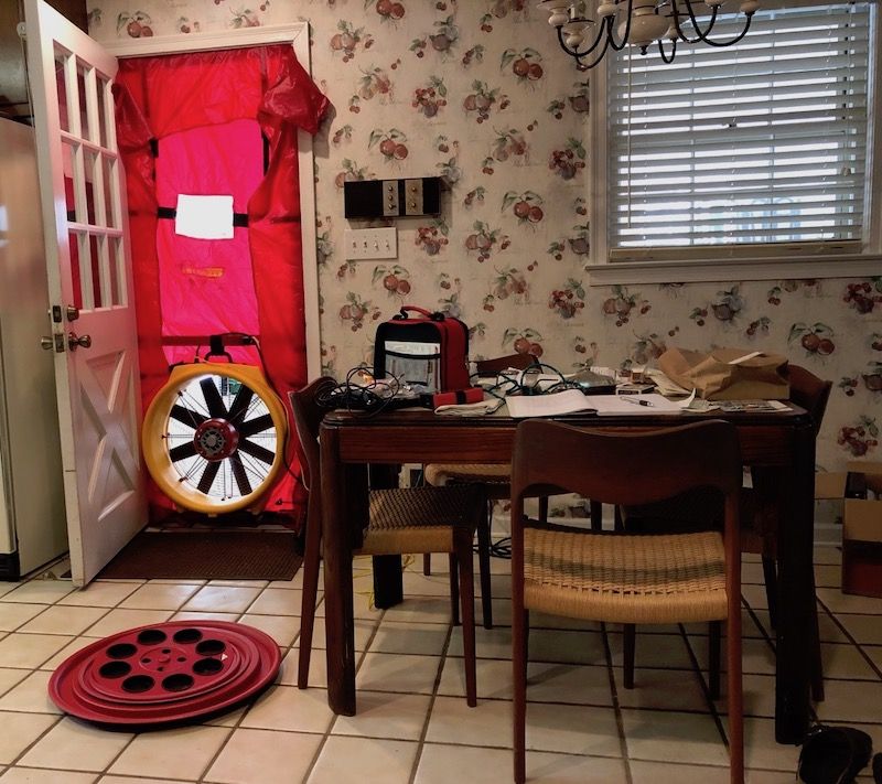 A Blower Door Test Can Tell You A Home's Infiltration Rate